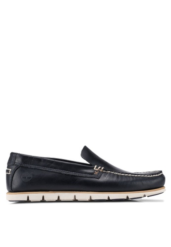 Timberland navy Tidelands Venetian Boat Shoes 8C062SH063EB41GS_1