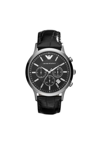 Emporio Armani RENzalora鞋ATO經典系列腕錶 AR2447, 錶類, 紳士錶