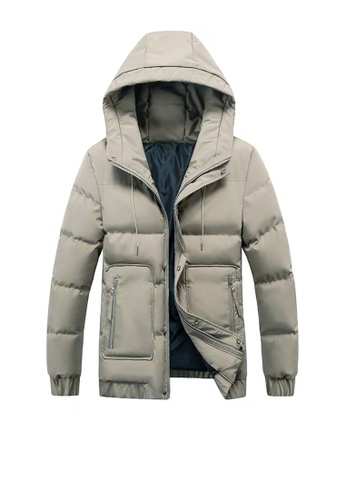 Twenty Eight Shoes brown VANSA  Fashion Thick Warm Cotton Coat VCM-C006 ABD9FAA0EA6641GS_1