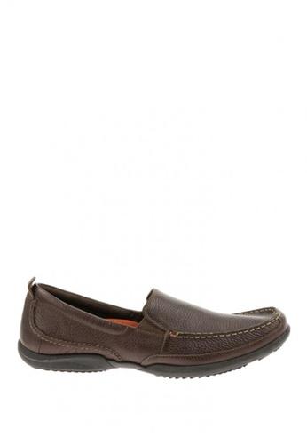 Hush Puppies brown Accel Slip On MT Casual Shoes HU326SH0J3H1PH_1
