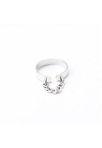 OrBeing white Premium S925 Sliver Geometric Ring 3ED53AC5DF180BGS_1