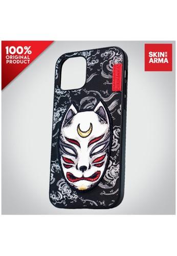 Skinarma black Case iPhone 12 / 12 Pro Skinarma Masuku - Black 4F861ESF3433CDGS_1
