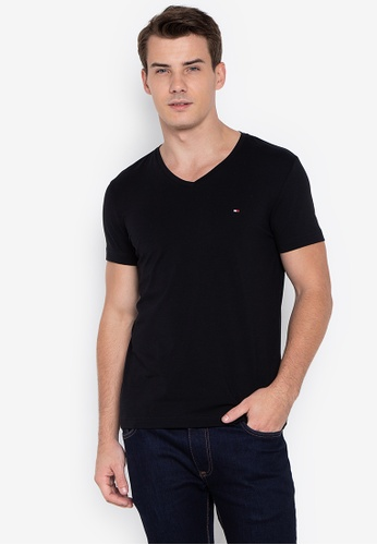 Shop Tommy Hilfiger Core Stretch Slim T-shirt Online on ZALORA Philippines 5ed0c1106cd36