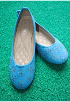 TNL Bianca Ballet Shoes (Blue)