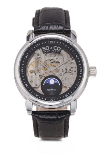 SO&CO black Madison Watch 5420 A76E7AC056ED71GS_1