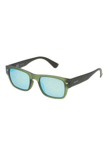 Police green POLICE Offstage 1 Polarized Sunglasses SPL150M T92P PO706AC76OYPMY_1
