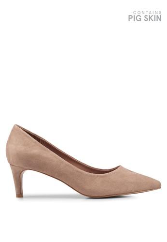 VANESSA WU beige Averie Pump Heels F78D4SH609F630GS_1