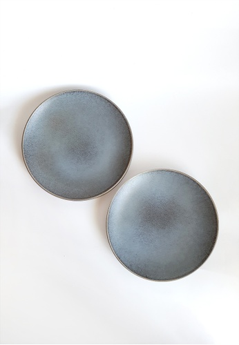 Your Lagom grey Storm Clouds Matte Plate B2C5DHL73D676AGS_1