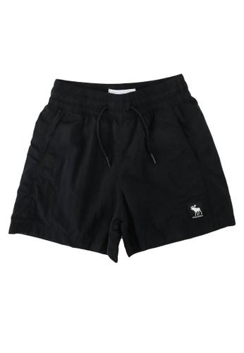 Abercrombie & Fitch black Hybrid Shorts 4B02EKA1B1BFDCGS_1