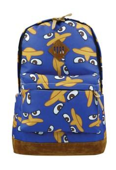 Fashionable Trendy Printed Cartoon Travel School Backpack