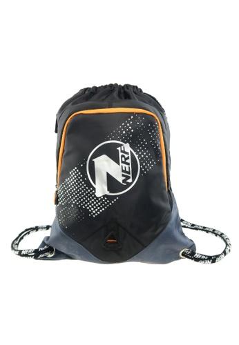 Transformers Nerf Black Drawstring Bag 77E5AKC624060FGS_1