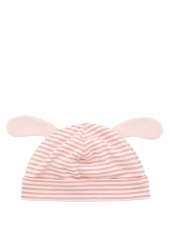Kingkow pink Rabbit Shaped Cotton Hat 0-6months BA26BKCA8DAB8DGS_1