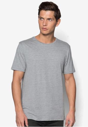 Topman 灰色 基本款合身短袖TEE TO250AA93NXYSG_1