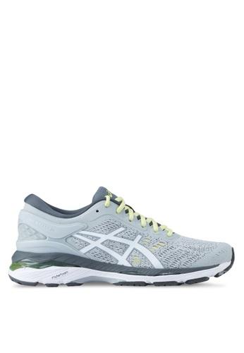 Asics grey Gel-Kayano 24 Shoes AS989SH0SVRPMY_1
