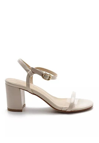 Twenty Eight Shoes 漆皮高踭涼鞋5691-6a A40D9SH0A3C486GS_1