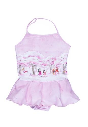 Viva Vida Kids pink Halter Cherry Blossom 4CC47KAB996F99GS_1
