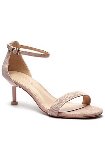 Twenty Eight Shoes Folds Heels Sandals 365-8 A57F5SH0818ED9GS_1