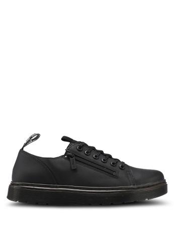 Dr. Martens black Vibe Ath Leisure Dante Zip 6 Eye Sneakers DR086SH0SX6GMY_1