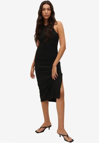 Mango 黑色 Cut-Out Bodycon Dress 62385AA036AB07GS_1