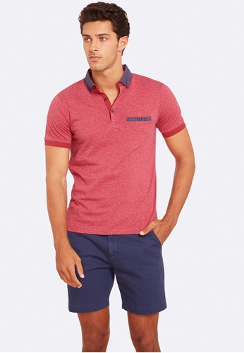 Oxford red Archie Polo 68982AA395F37FGS_1