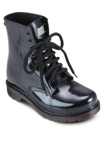 Bercesprit童裝門市y 拼接紋高筒靴, 女鞋, 鞋