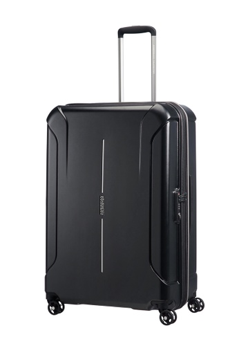 American Tourister black American Tourister Technum Spinner 77/28 Exp TSA AM536AC0FAIUSG_1