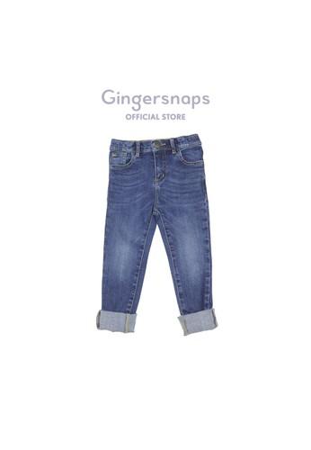 Gingersnaps blue East Hampton Dude Pants Mid Blue 4BC38KA4A06E4EGS_1