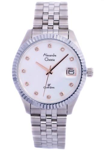 Alexandre Christie silver Alexandre Christie 5006 - Jam Tangan Wanita -  Strap Stainless Steel - Silver f51b42b493