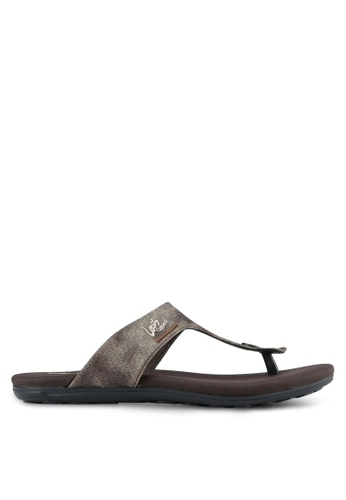 Louis Cuppers brown Casual Sandals LO977SH0S9S4MY_1