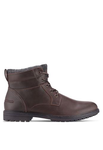 Burton Menswear London brown Brown Macbeth Worker Boots 1CE2CSH01974DAGS_1