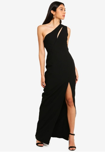 Vesper black Vesper Julianna One Shoulder Maxi Dress AA6E0AA18CC4A9GS_1