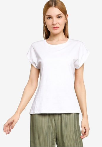 Supre white Kaya Crew Neck T-Shirt 8CA60AA71A7EE4GS_1