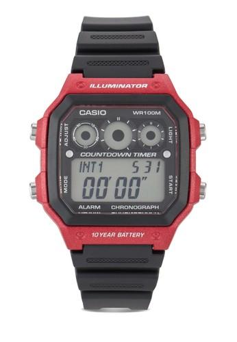 方框電esprit outlet 台灣子運動手錶, 錶類, 飾品配件