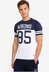 Wrung navy Beast T-Shirt WR395AA96MPFMY_1