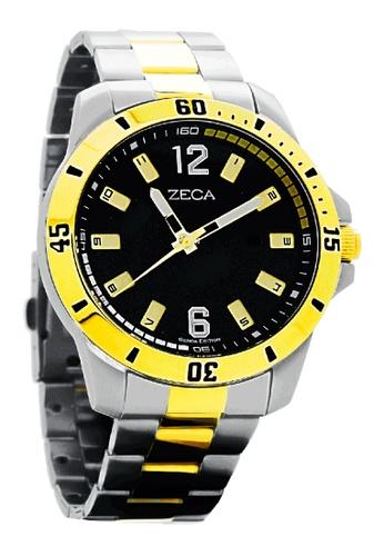 ZECA gold Zeca Watches Men Fashion Stainless Steel Analog - 2004M Gold ZE260AC0H9AHSG_1
