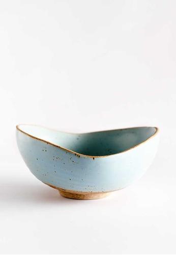 KRA Sanctuary blue Sii Faa Shell Sharing Dish 5C635HLFBA886DGS_1