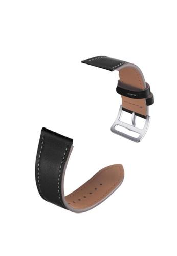 Kings Collection black Black Genuine Leather Apple Watch Band 38MM / 40MM (KCWATCH1047) C608FACBA4DE01GS_1