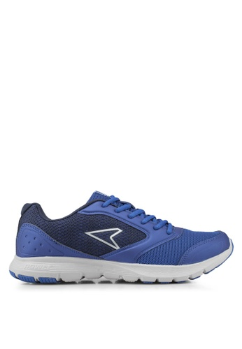 Power blue Wave Droid RMX Running Shoes 5207ESH9E216EBGS_1