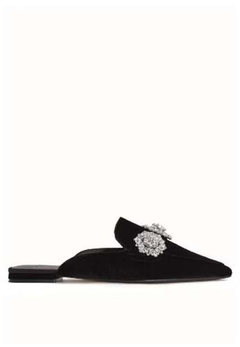 Mango black Crystal Slingback Shoes 6A5A0SH80B38D1GS_1