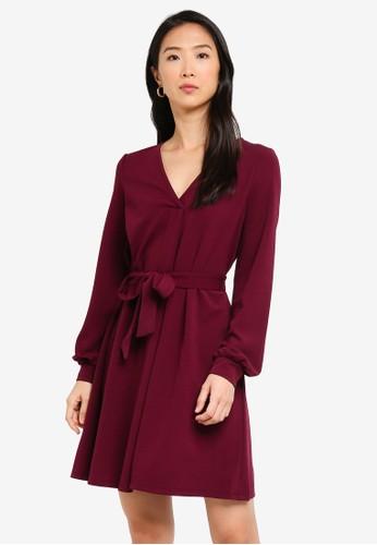 Vero Moda red Cali Dress A31C6AA97B696BGS_1