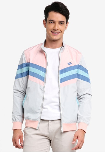 Pestle & Mortar multi Retro Active Track Jacket 86B6FAA2402B61GS_1