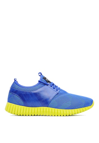 Life8 blue Mesh 3D Spring Sport Shoes-09502-Blue LI283SH06JRHSG_1