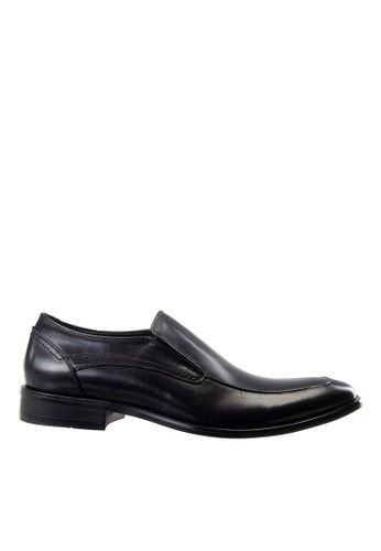 Hush Puppies black Hush Puppies Men's Gela Slip On Dress Shoe- Black D871ESHC3DCA9EGS_1