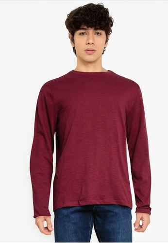 OVS red Long-Sleeved T-Shirt 52116AA2742865GS_1