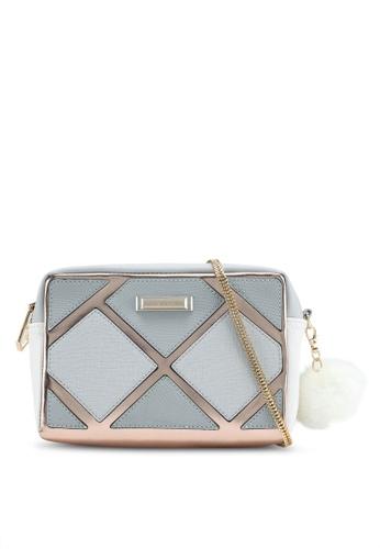 River Island grey Grey Cuatbout Boxy Xbody Bag DA573ACFC845F1GS_1