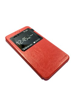 Leather Flip Stand Case View Window Cover for Lenovo S8 A7600