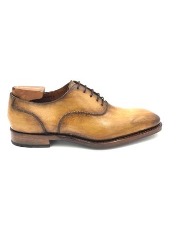Giorostan brown Men Formal Oxford Shoes 49691SHA3A7549GS_1