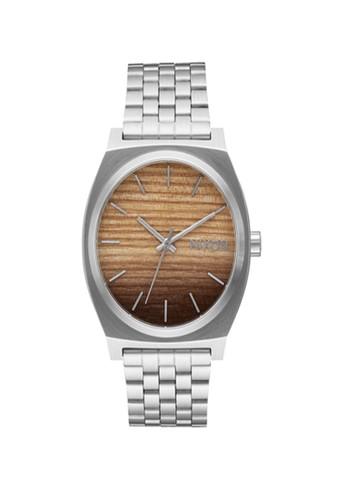 Nixon silver TIME TELLER WOOD/SILVER 6FDBAAC62DC208GS_1