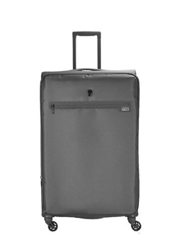 Heys brown Heys Xero Elite 28 inch Polyester Spinner Soft Case Luggage - Charcoal 5E882AC4284C0AGS_1