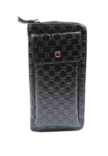 Lemon Cotton black Men's Wallet with Cellphone Casing 93AA3AC269D5D8GS_1